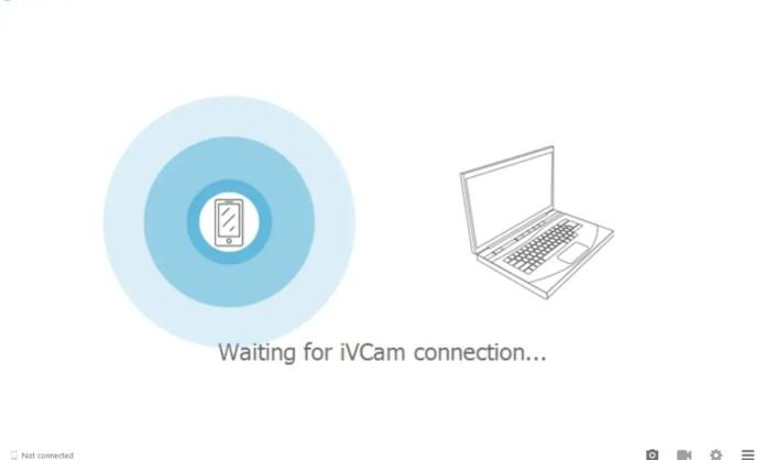 how to use phone camera as webcam for pc via usb