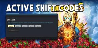 Shift Code Borderlands 3