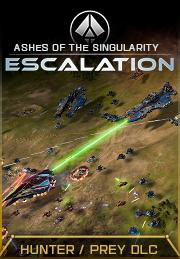 Ashes Of The Singularity : ashes, singularity, Ashes, Singularity:, Escalation, Hunter, Expansion, Steam, GamersGate
