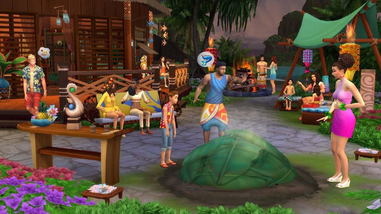 The Sims 4: Island Living - Gamersmaze.com