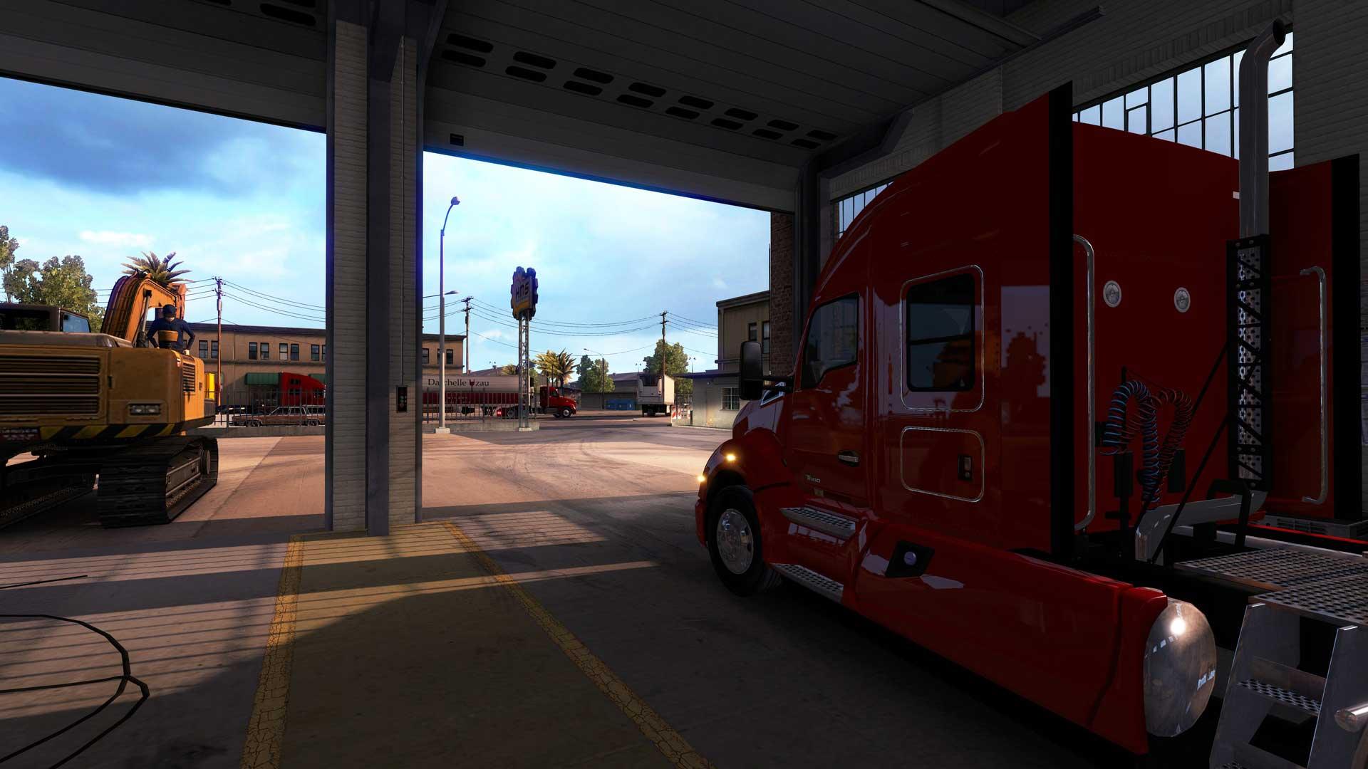 American Truck Simulator - Gamersmaze.com