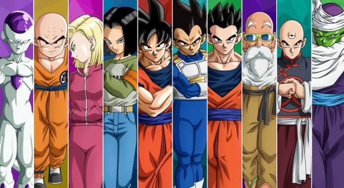 Equipe do Universo 7 no Torneio do Poder - Dragon Ball Super