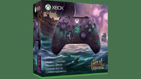 Controle de Xbox One baseado em Sea of Thieves