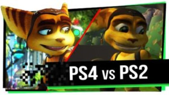 PS4 X PS2
