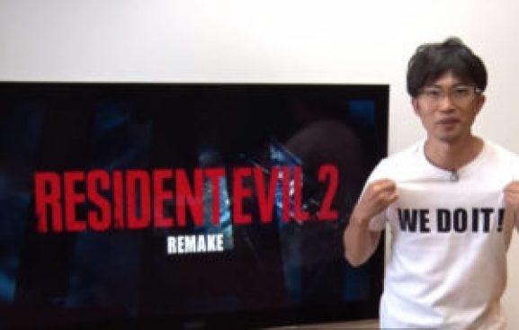 Imagem de quando o Remake foi anunciado em 2015.