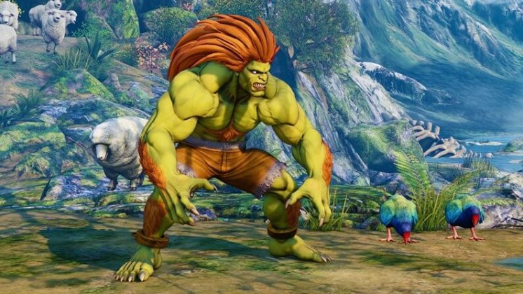Street Fighter V Blanka