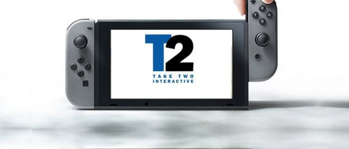 Take-Two in Nintendo Switch.