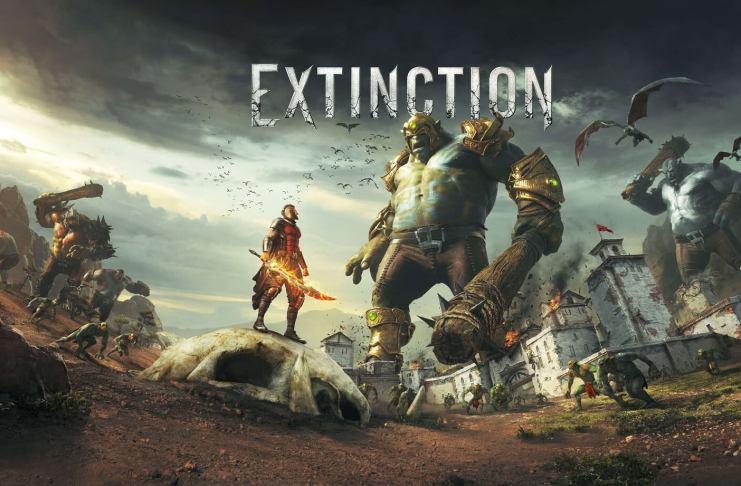Extinction jogo