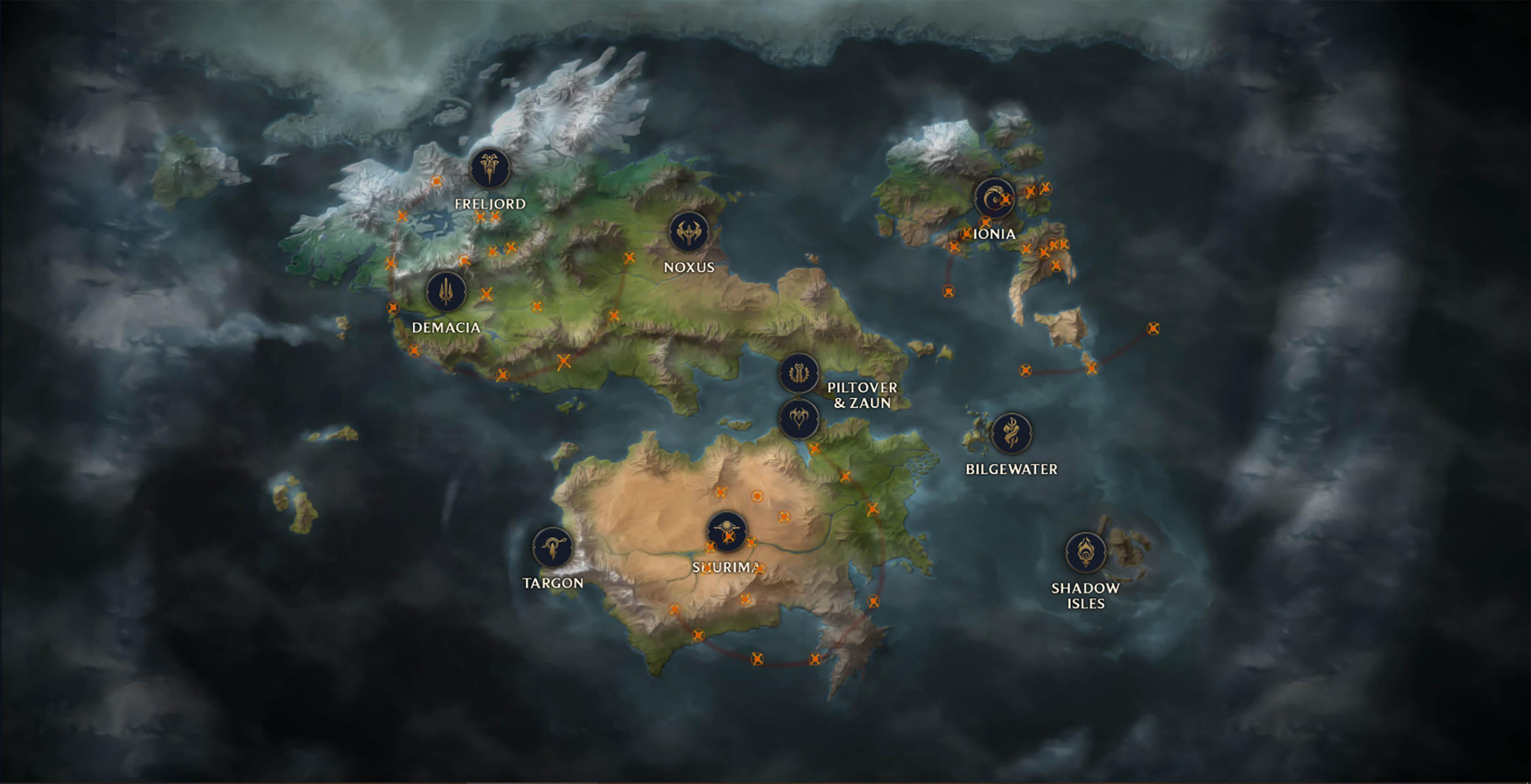 Mapa de Runeterra