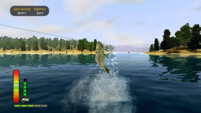 Novo game de pesca.