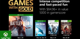 Games with Gold, Battlefield 1, Microsoft, Xbox One, Xbox, Assassin's Creed