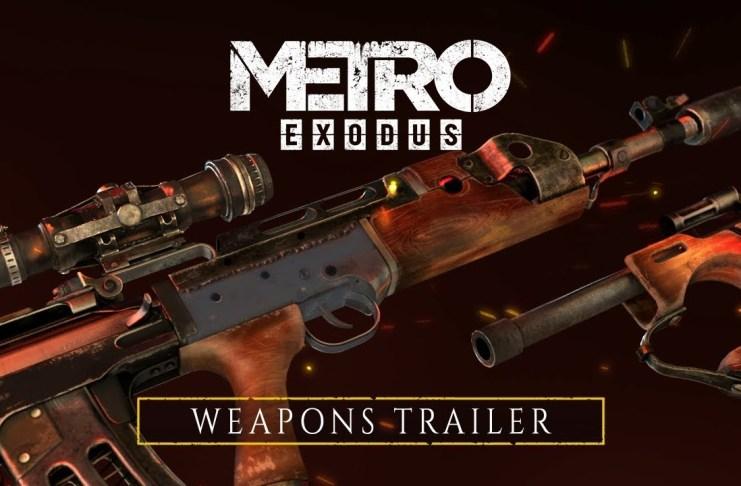 Metro Exodus, Armas