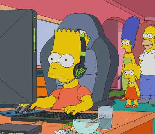 Bart, eSports, Os Simpsons