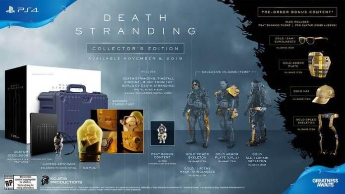 Edição Colecionador - Death Stranding
