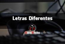 Letras diferentes utilizando o Gera Nicks