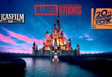 LucasFilm, Marvel Studios, Fox, Disney, Filmes