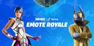 Fortnite, TikTok, Gesto Royale