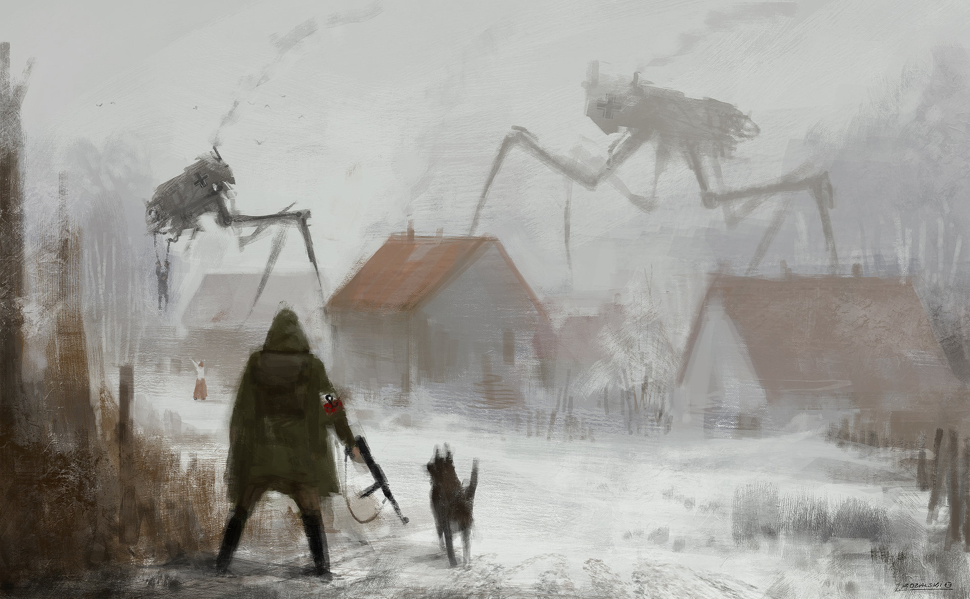 1920+ Rewrites World War 1 With Mech Suits And Rifles