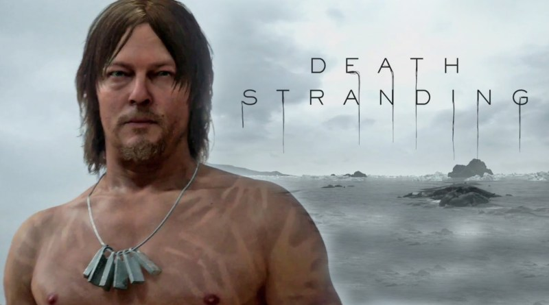 Death Stranding PS4 Kojima