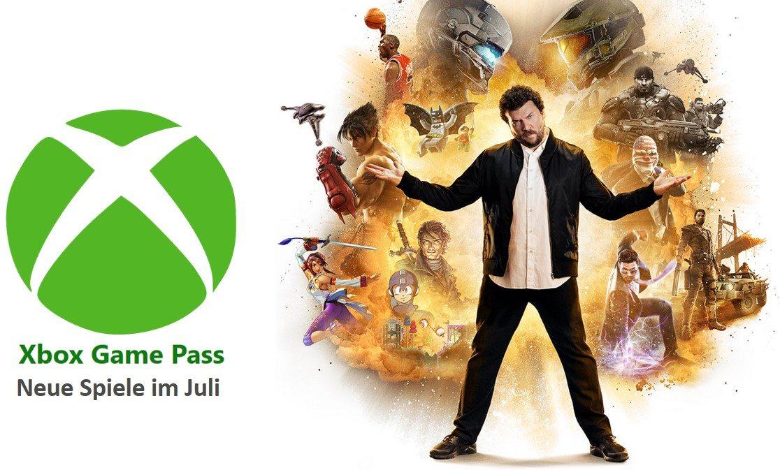 Xbox Game Pass - Neue Titel im Juli