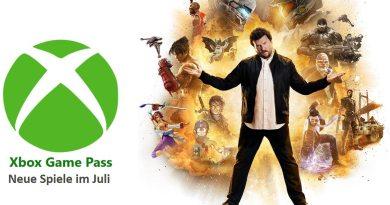 Xbox Game Pass Juli