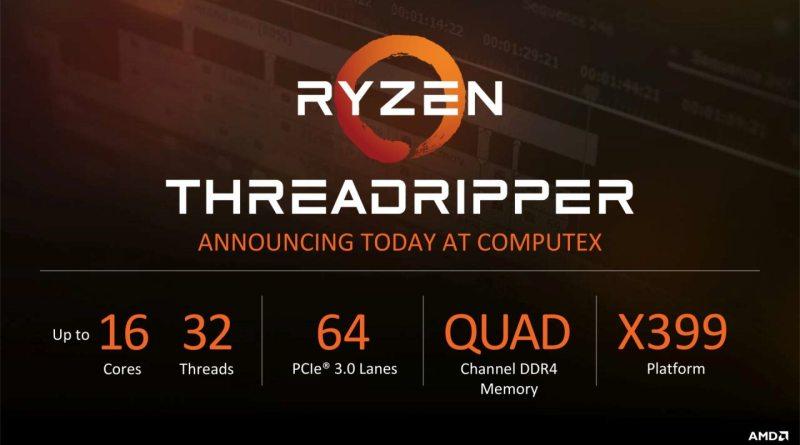 AMD Ryzen Threadripper