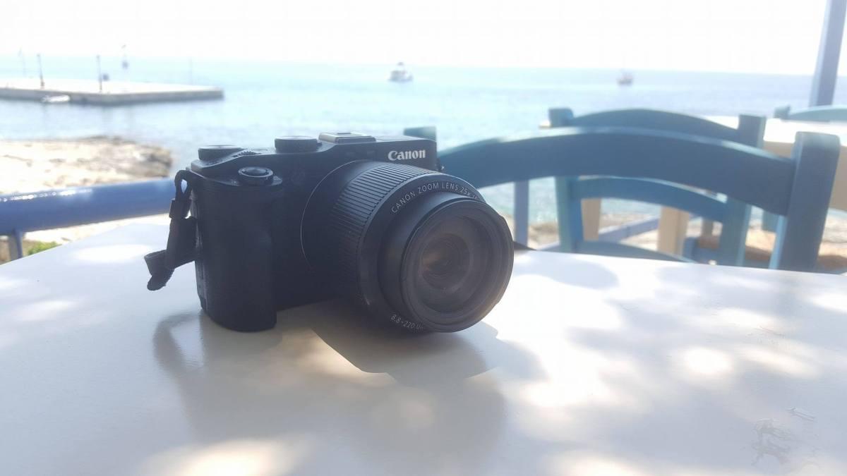 Im Urlaub mit der Canon PowerShot G3 X