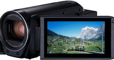 Canon Legria HF R806 Gamescom Camcorder HD Titel