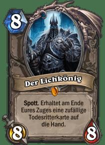 Hearthstone Erweiterung Knights of the Frozen Throne Ritter des Frostthrons Lich König Lich King