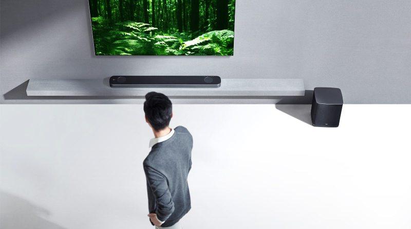 LG Soundbar SJ9 Dolby Atmos Front Gaming Heimkino Titel