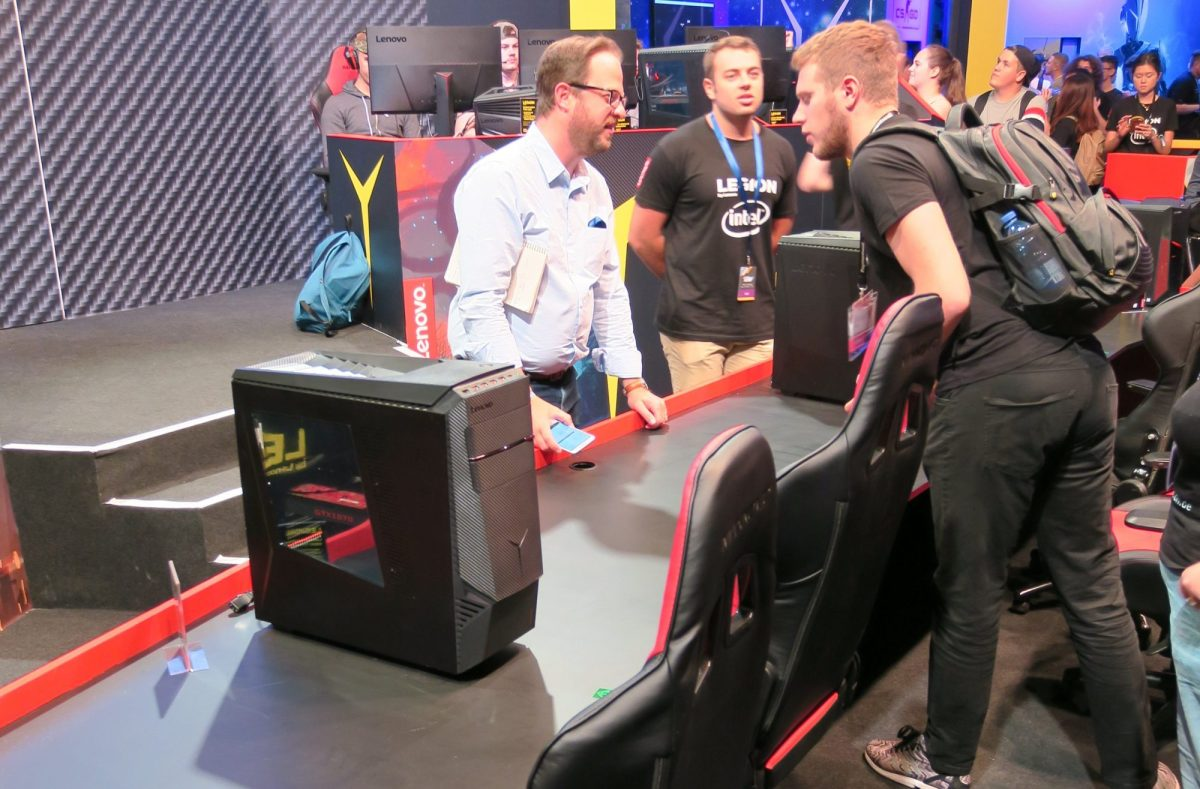 Gamescom 2017 - Lenovo Legion High-End Gaming