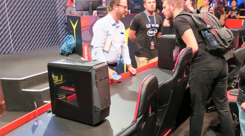 Lenovo Legion Gamescom Tower GC 2017 Titel