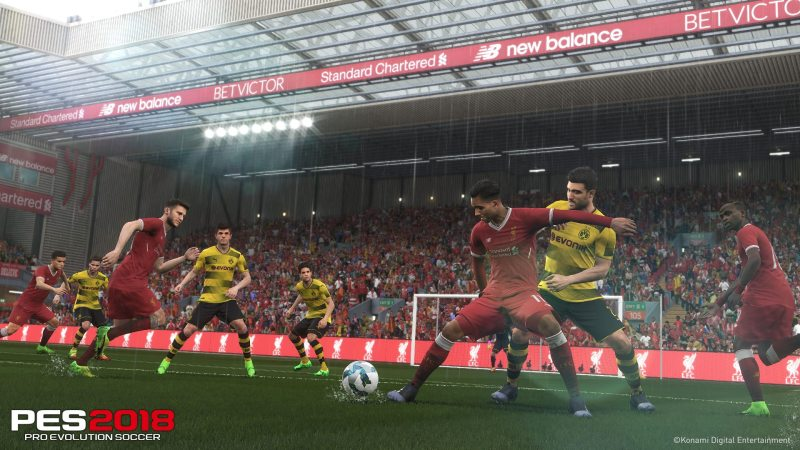 PES 2018 Pro Evolution Soccer 2018 PS4 Xbox One PC Liverpool BVB Battle