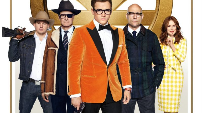 Kingsman 2 The Golden Circle 20th Century Fox Taron Egerton Colin Firth Julianne Moore Review Kritik Film Titel