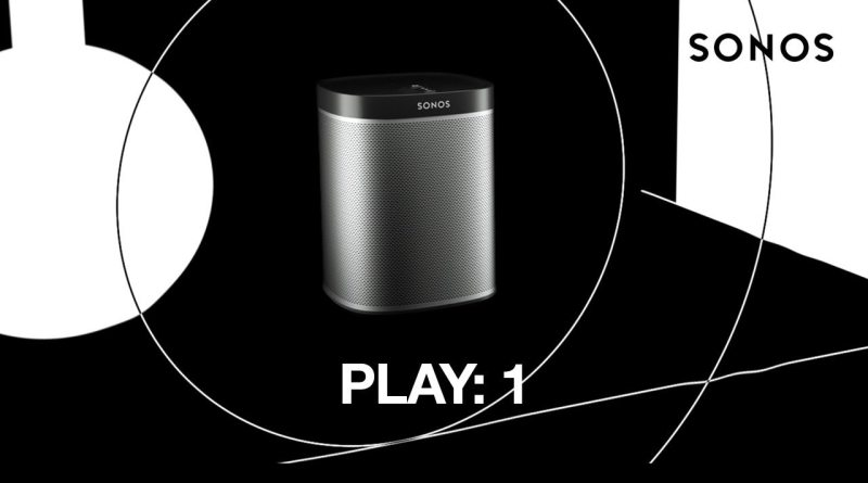 SONOS PLAY:1 Lautsprecher Speaker Wireless Multiroom Titel