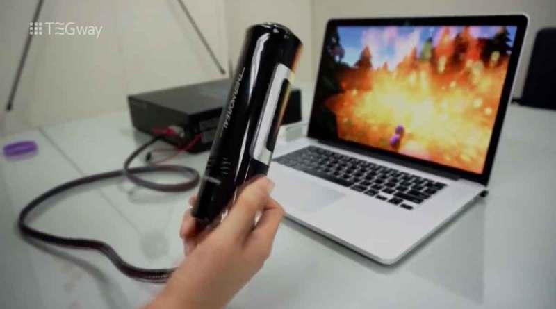 ThermoReal VR AR Virtual Reality Technik Gaming Tegway Titel