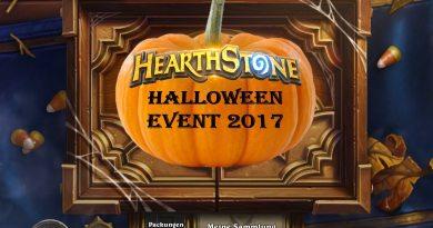 Hearthstone halloween Event 2017