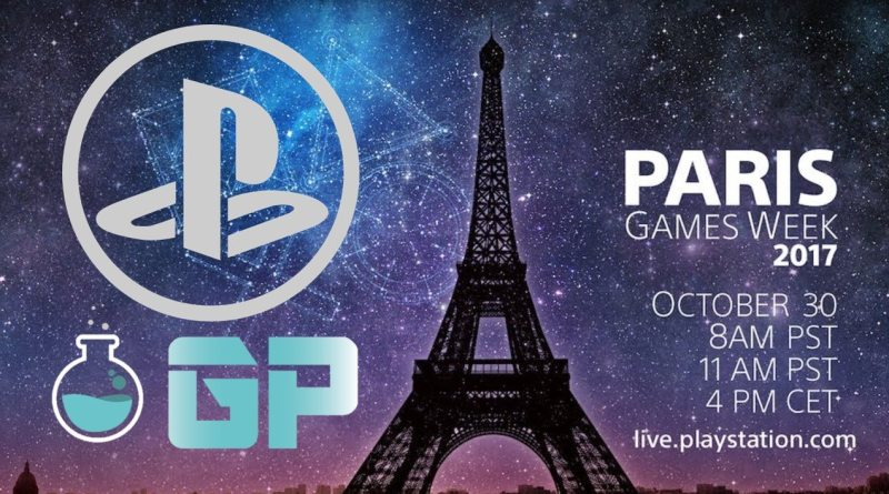PlayStation Paris Games Week 2017