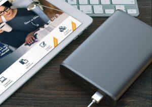 PowerOak K2 Powerbank Laptop Mobil 50000 mAh Test Review Titel