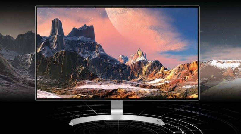 4K Monitor UHD Monitor LG 32UD89-W Test Titel 1