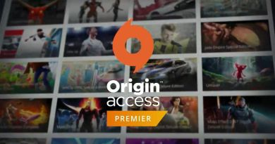 EA Origin Access Premier EA Play E3 2018 Streaming Vault TItel