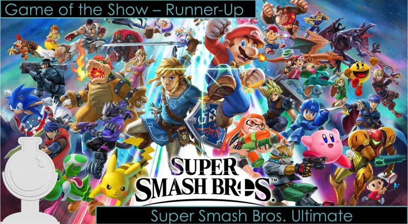 runner up game of the show super smash bros. ultimate