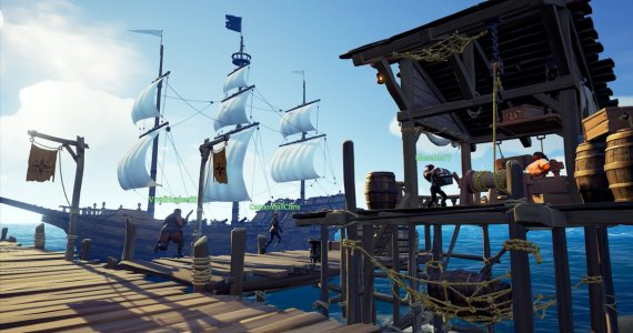Anuncian Alfa Tecnica de Sea of Thieves GamersRD