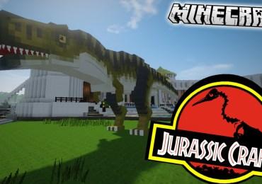 JurassiCraft -Mod-Minecraft-GamersRD