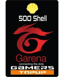 shop shell garena