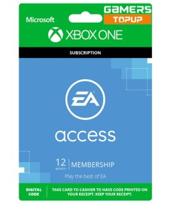 EA ACCESS XBOX ONE 12 MONTHS SUBSCRIPTION