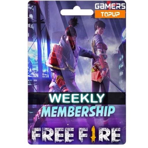 Free Fire Weekly Membership