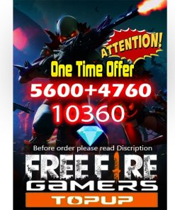 freefire one time offer