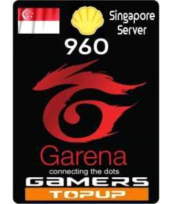 Garena Shells 960 ( SG )