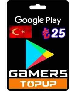 Google Play Gift Card TL Turkey